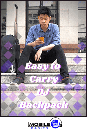 Easy to Carry DJ Backpack
