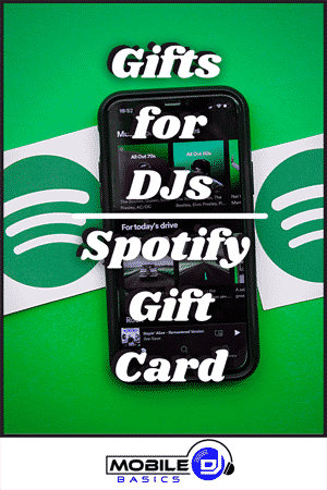 Gifts for DJs - Spotify Gift Card