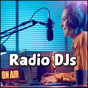 Types of DJs Radio DJs - does dj stand for disc jockey