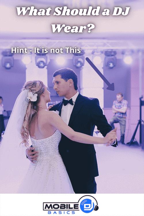 What Should A DJ Wear to a wedding