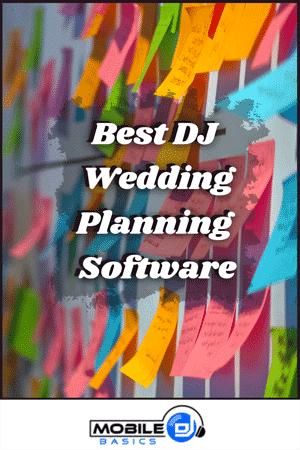 Best DJ Wedding Planning Software 2021