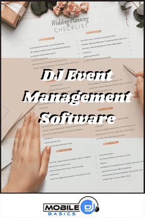 DJ Event Management Software 2021