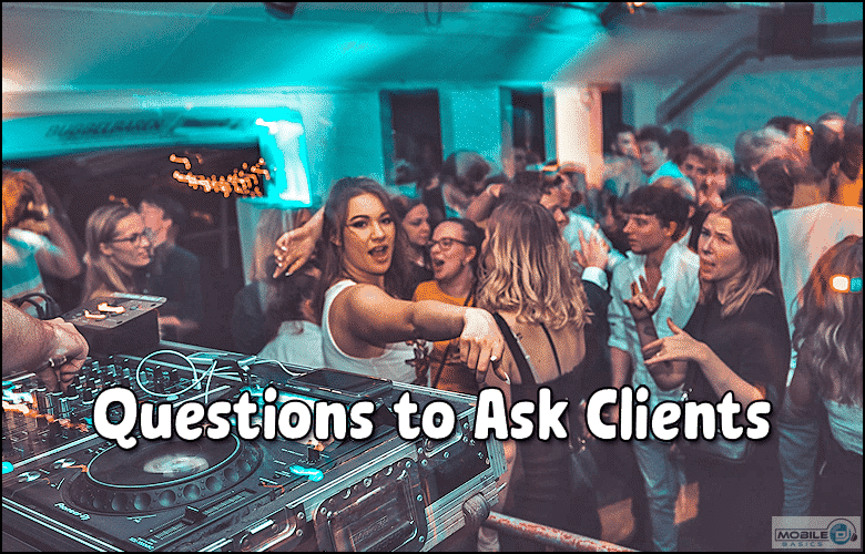Questions to ask before a wedding dance