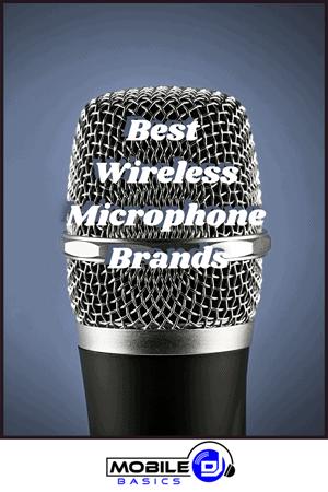 Best Wireless Microphone Brands
