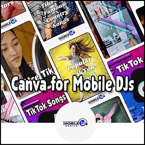 Canva for Mobile DJs Social Media